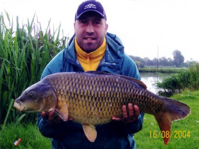 Albert Griffiths with a 23lb Cmmon